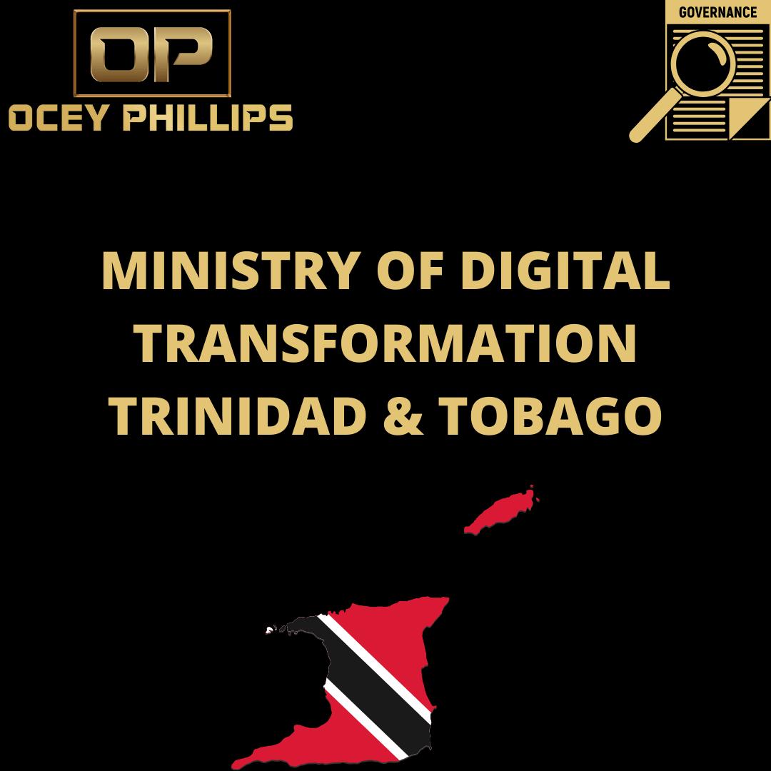 Ministry of digital transformation trinidad & tobago