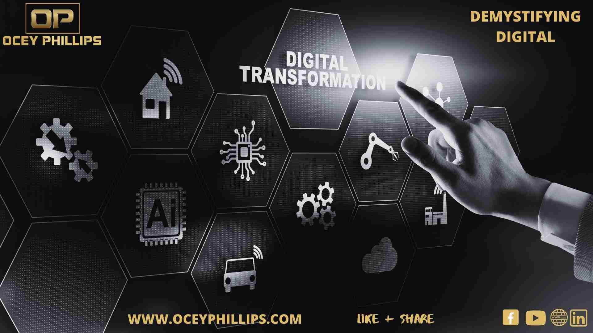 Digital transformation with ocey Phillips
