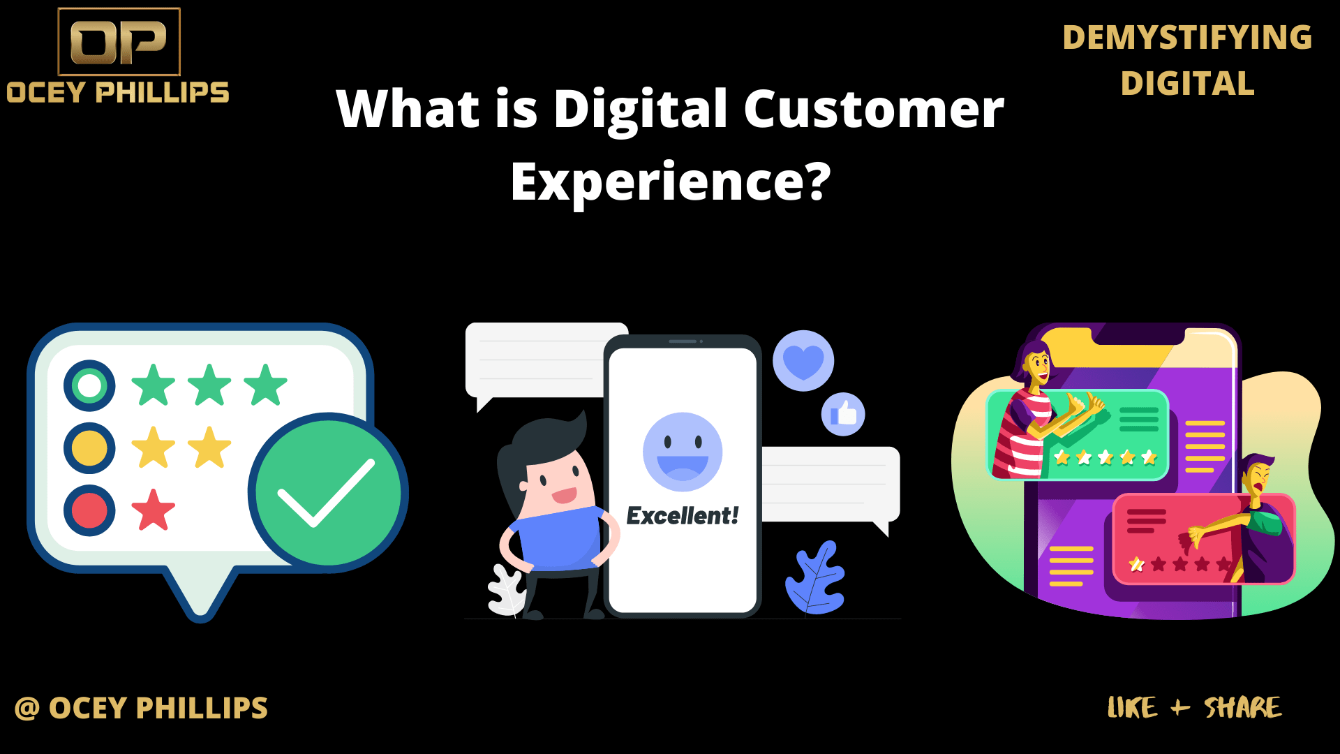 What is Digital Customer Experience? | OceyPhillips