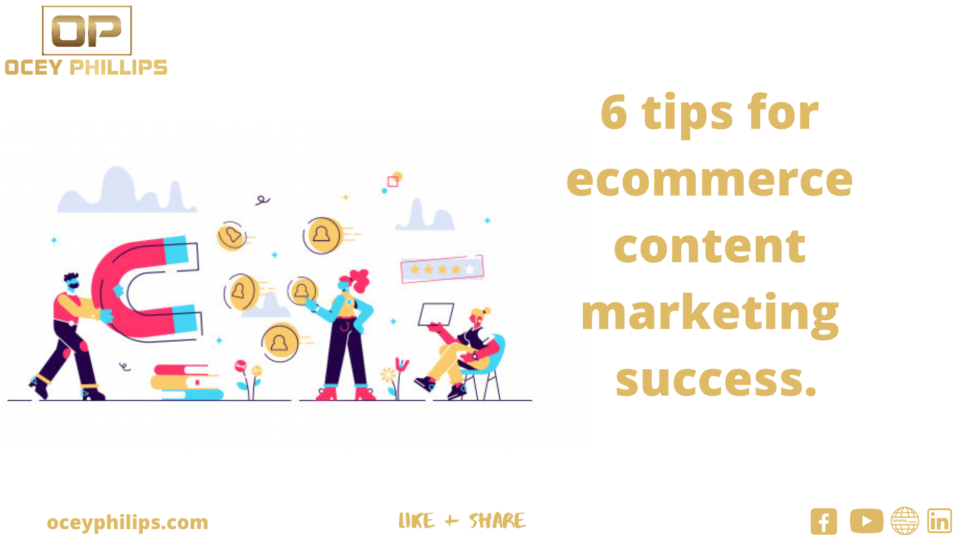 6 tips for ecommerce content marketing success